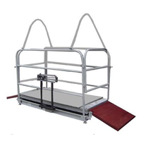 Весы механические для взвешивания животных ВТ-8908-500СХ (для взвешивания поросят и молодняка КРС)