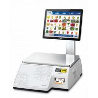 Весы торговые CAS CL7000-06S с печатью этикеток