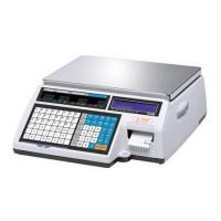 Весы торговые CAS CL-5000-15B с печатью этикеток