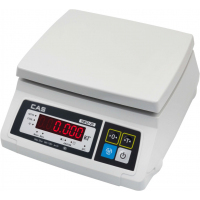Весы порционные CAS SW-II-10, электронные, с АКБ