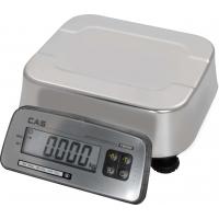 Весы порционные CAS FW500-C-15, влагозащищенные (LCD)
