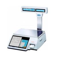 Весы торговые CAS CL-5000-15P с печатью этикеток