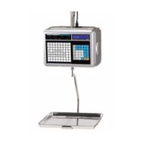 Весы торговые CAS CL-5000-15H с печатью этикеток, подвесные