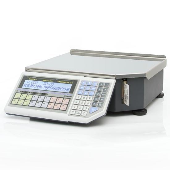 Весы с печатью этикеток Штрих-М