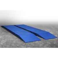Автомобильные подкладные весы поосного взвешивания ВСУ-Т15000-1П4 (с пандусами)