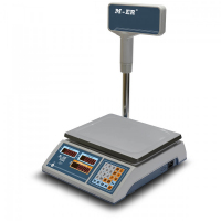 Весы торговые электронные M-ER 322ACPX-15.2 LED «ibby»