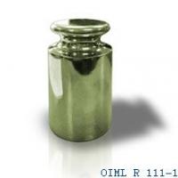 Гиря торговая 1кг, М2 OIML R 111-1 (хромированная сталь)