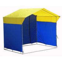 Палатка торговая, разборная «Домик» 4,0 х 3,0 (квадратная труба 20x20мм)