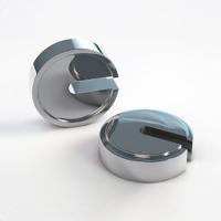 Гиря дисковая специальная СТАНДАРТ С 10 кг E2 ДВ-С, с радиальным вырезом