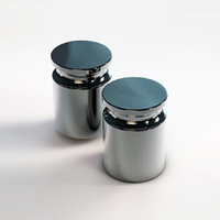 Гиря цилиндрическая калибровочная СТАНДАРТ К 2 кг E2 ЦП-С, с проточкой