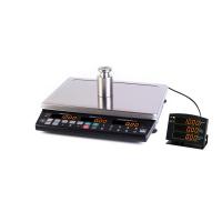 Весы торговые системные с выносным индикатором МАССА MK-32.2-T21