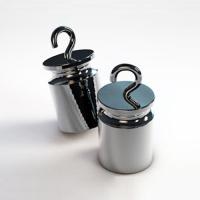 Гиря цилиндрическая специальная СТАНДАРТ С 2 кг M1 ЦК-С, с крючком