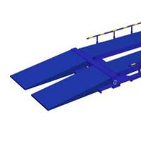 Удлиненные пандусы длиной 4 м (только для стандартной комплектации УК-2) 4 шт.