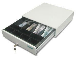 Денежный ящик с электромеханическим замком