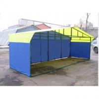 Палатка торговая, разборная «Домик» 6,0 х 2,0 (квадратная труба 40x20мм)