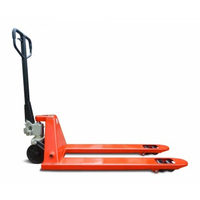 Гидравлическая тележка AC 50 1150-550 (рохла), полиуретановые колеса
