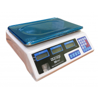 Весы торговые электронные МИДЛ МТ 15 МЖА (2/5; 230x330) «Базар»