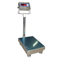 Весы влагозащищенные товарные МИДЛ МП 150 ВДА Ф-2(20/50; 400х500) «Батискаф X12С»