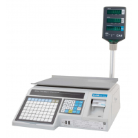 Весы торговые с печатью этикеток CAS LP-06R (1.6), c Ethernet