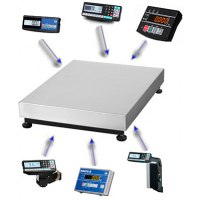 Товарные весы-регистраторы МАССА TB-M-300.2-1 с возможностью печати этикеток (весовой модуль)