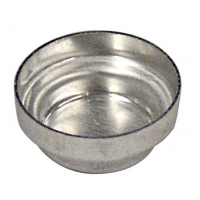 AX-ROUND-PAN-M  Круглая алюминиевая чашка (диаметр 12 мм, 0.3 мл, 100 шт./уп)