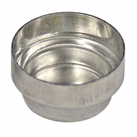 AX-ROUND-PAN-L  Круглая алюминиевая чашка (диаметр 15 мм, 08 мл, 100 шт./уп )