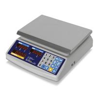 Весы торговые M-ER 329 AС-32.5 IP68 «Fisher» LED, влагозащищенные