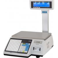 Весы торговые CAS CL3000-6P (TCP/IP) с печатью этикеток