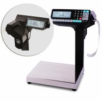 Торговые многофункциональные весы-регистраторы с печатью чеков и этикеток МАССА МК-6.2-R2P10