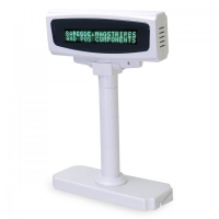 Дисплей покупателя Mertech PD-1200VFD (USB) белый