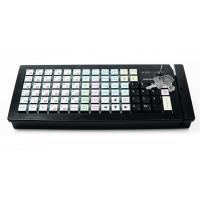 Программируемая клавиатура Posiflex KB-6600B черная c ридером магнитных карт на 1-3 дорожки