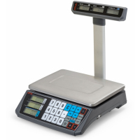 Весы торговые АТОЛ MARTA (со стойкой, СОМ порт, кабель USB-RS, кабель RS-232, лицензия FDU) с поверкой