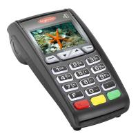Платежный электронный терминал Ingenico ICT250 GPRS Ethernet Modem Color screen Contactless с ПО начального уровня