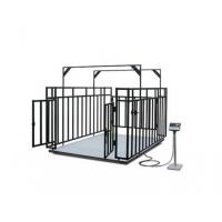 Весы МВСК С-НН-0,3 (0,75х1,0) с ограждением для взвешивания животных 1,5 м (кабель4м, кабель4жил.)