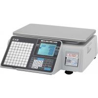Весы торговые CAS CL3000J-15B (TCP/IP) с печатью этикеток