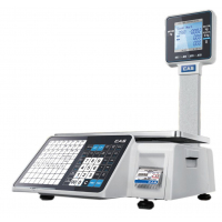 Весы торговые CAS CL3000J-15P (TCP/IP) с печатью этикеток