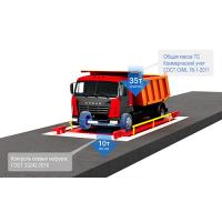 Автомобильные весы ВС-А 6м 30т Премиум с контролем осей