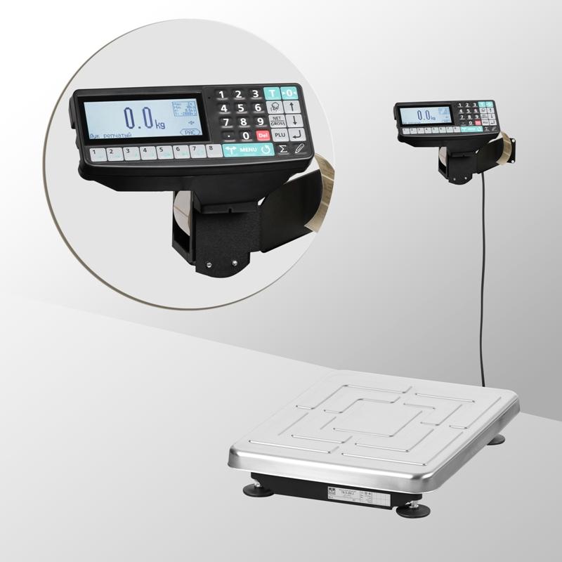Весы товарные с печатью этикеток