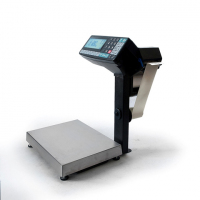 Весы с печатью этикеток МАССА МК-15.2-R2P10-1 (с подмоткой ленты)