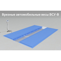 Автомобильные подкладные весы поосного взвешивания ВСУ-Т30000-1В4 (врезные)