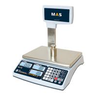 Электронные торговые весы MAS MR1-30P