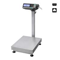 Весы товарные МАССА TB-5040N-200.2-RP3 с печатью этикеток, платформа из нержавейки