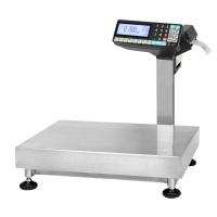 Настольные весы МАССА TB-5040N-200.2-RP3n с печатью этикеток, платформа из нержавейки
