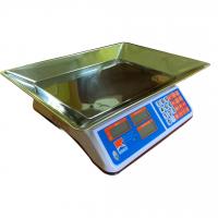 Весы бытовые GreatRiver DH-601 (40кг/5г) LCD без стойки, с увеличенной платформой