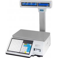 Весы торговые CAS CL-5000J-15IP с печатью этикеток