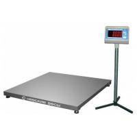 Весы платформенные из нержавеющей стали ВСП4-1000 А9 (750х750)