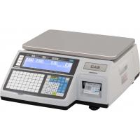 Весы торговые CAS CL3000-15B (TCP/IP) с печатью этикеток