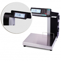 Торговые весы-регистраторы с печатью чеков и этикеток МАССА МК-15.2-R2L10-1